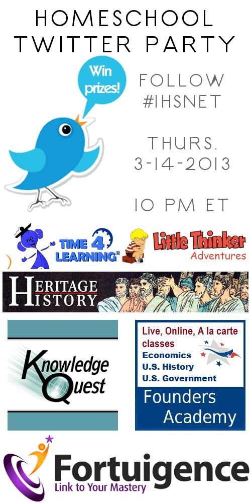 March 14, 2013 Twitter party #iHSnet