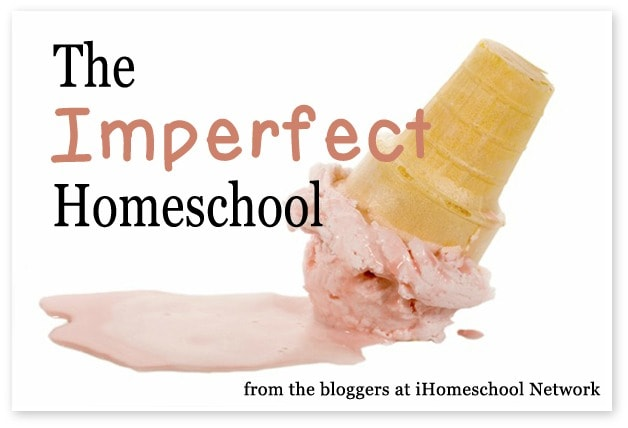 The Imperfect Homeschool, an honest look at the not-so-good days by the bloggers of iHomeschool Network