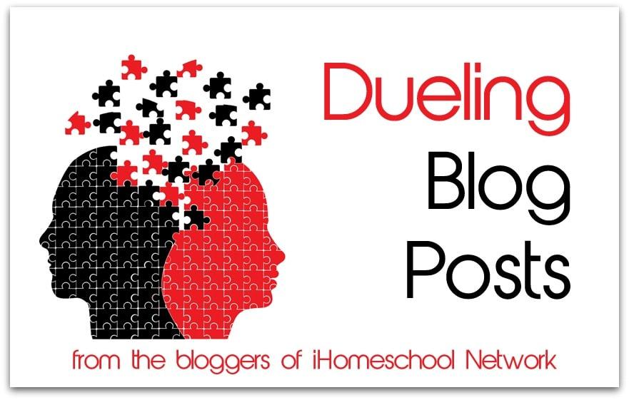 Dueling Blog Posts via iHomeschool Network Bloggers