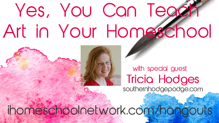 Yes, You Can Teach Art in Your Homeschool
