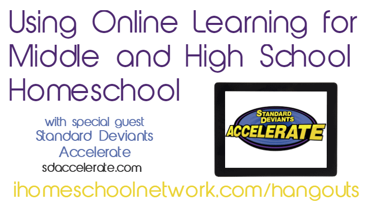 Using Online Learning for  Middle and High School Homeschool