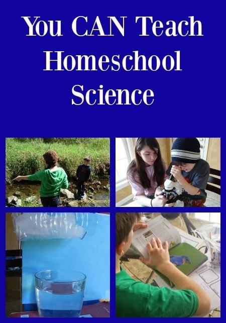 You CAN teach homeschool science