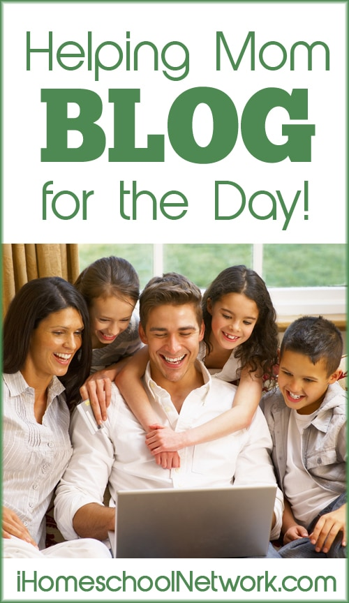 Helping Mom Blog for the Day | iHomeschool Network