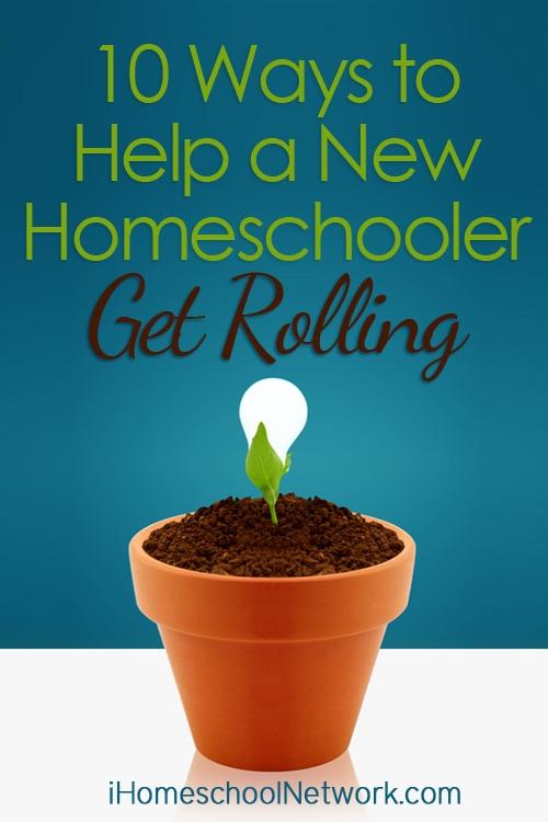 Top 10 Ways to Help a New Homeschooler Get Rolling | @iHomeschoolNet | #ihsnet