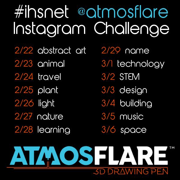 AtmosFlare #ihsnet Instagram Challenge Feb. 22 - March 6, 2016