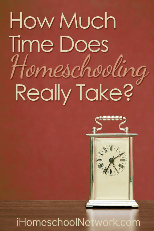 How much time does homeschooling really take?   iHomeschool Network #ihsnet