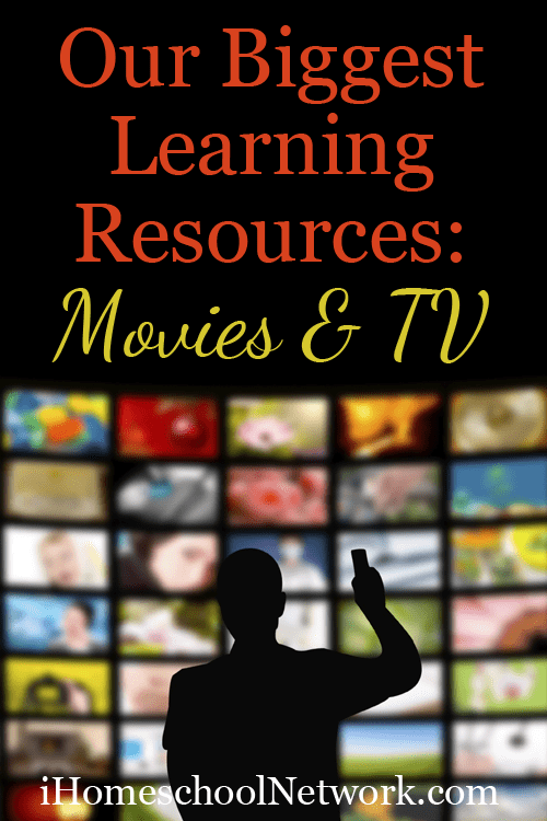 Our Biggest Learning Resources: Movies and TV shows | @iHomeschoolNet | #ihsnet