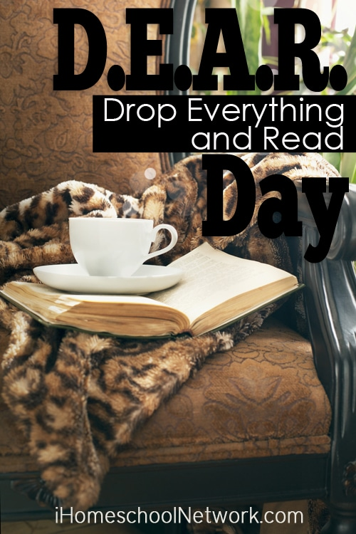 Ideas for Celebrating D.E.A.R. Day (Drop Everything and Read)