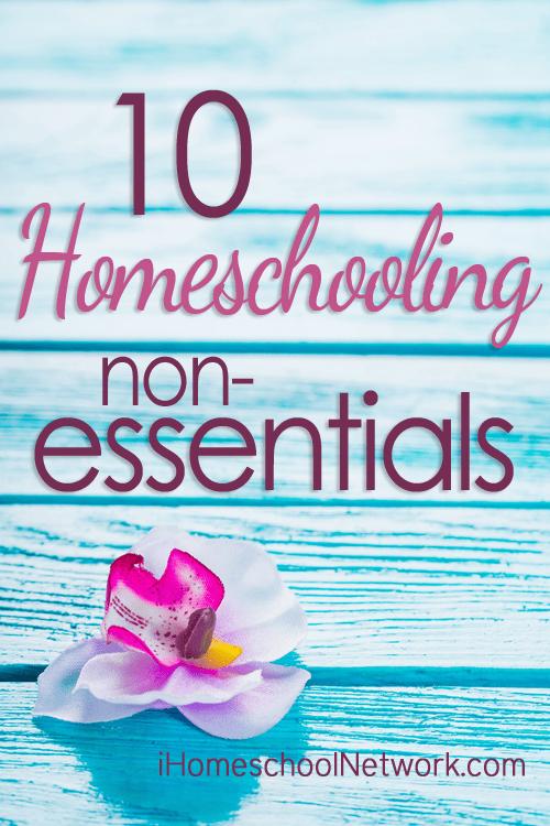 10 Homeschooling Non-Essentials