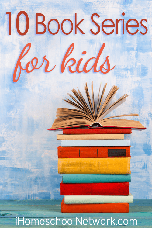 10 Book Series to Enjoy with Your Children