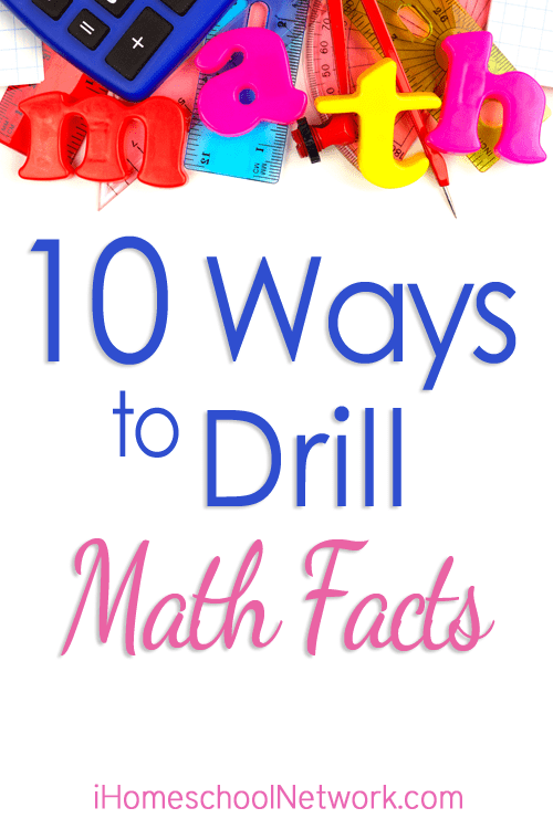 10 Ways to Drill Math Facts