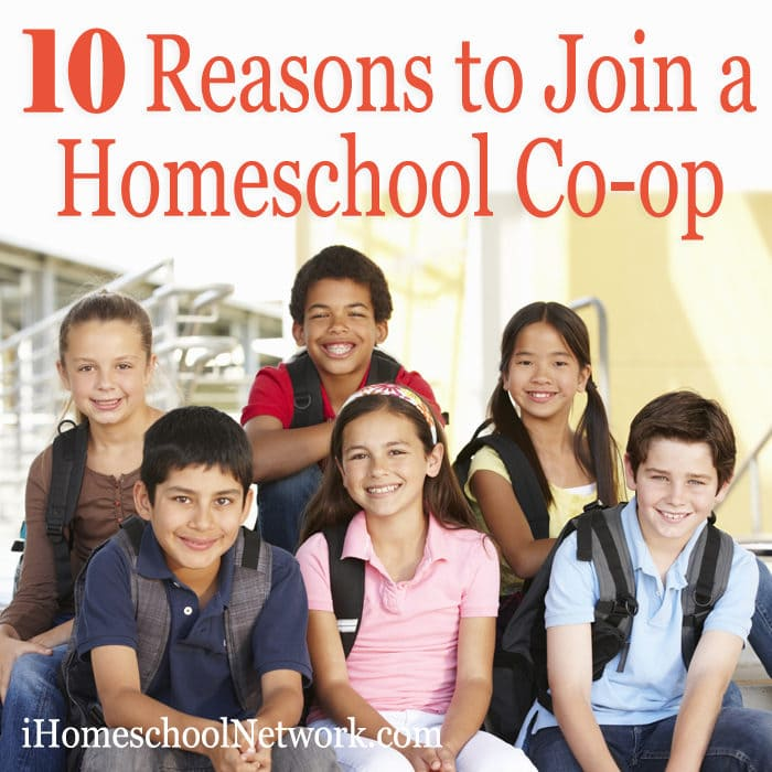 Top 10 Reasons to Join a Homeschool Co-op
