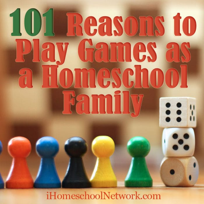 101 Reasons to Play Family Games