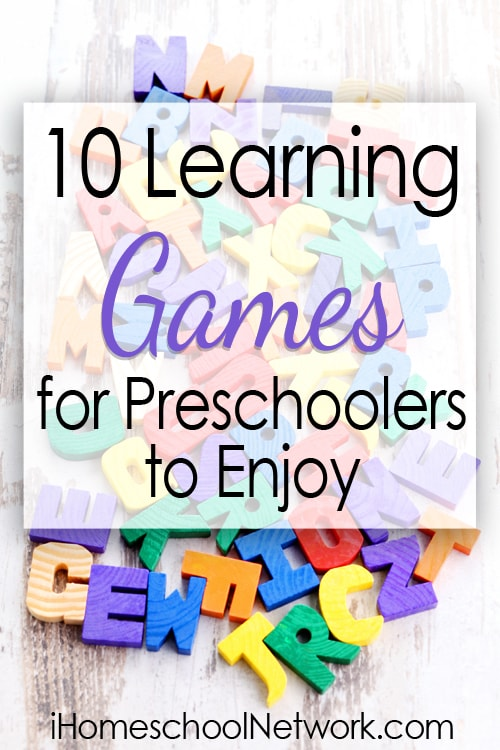 10 Learning Games for Preschoolers to Enjoy