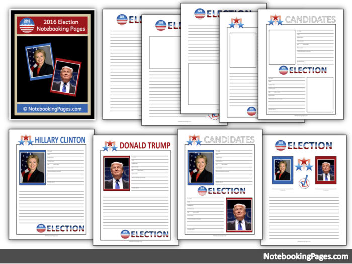 free 2016 election pages