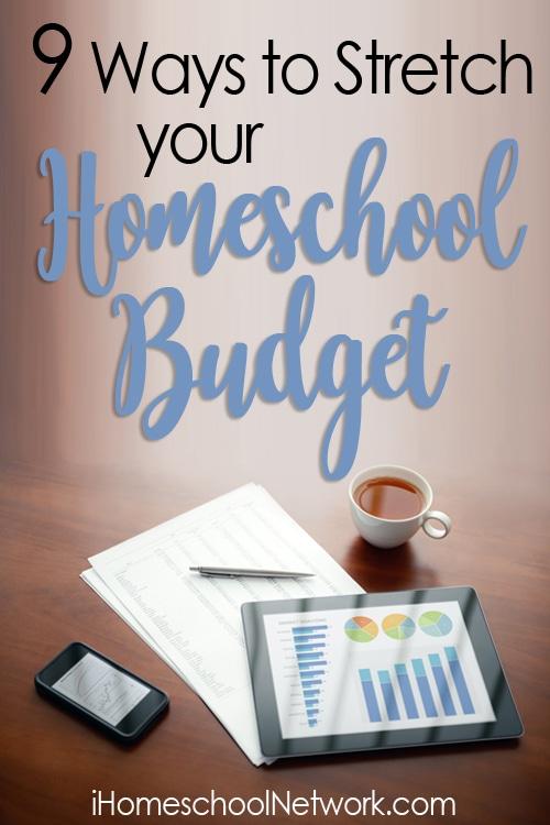 9 Ways to Stretch Your Homeschool Budget