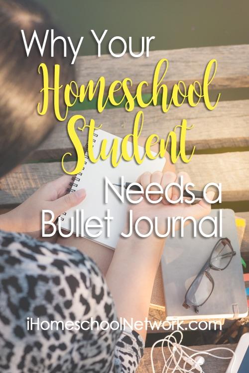 Why Your Homeschool Student Needs a Bullet Journal | #ihsnet