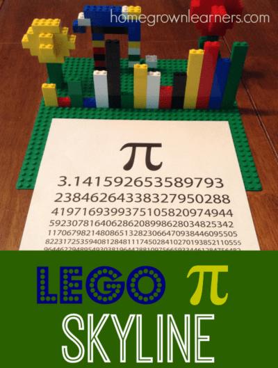 Making Math Fun with LEGO® - Pi Skyline