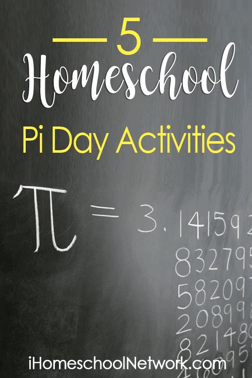 5 Homeschool Pi Day Activities