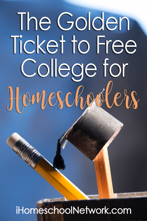 The Golden Ticket to Free College for Homeschoolers