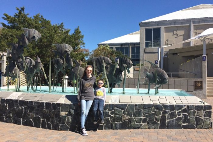field trip to the NC Aquarium