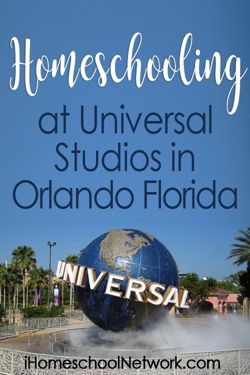 Homeschooling at Universal Studios Florida