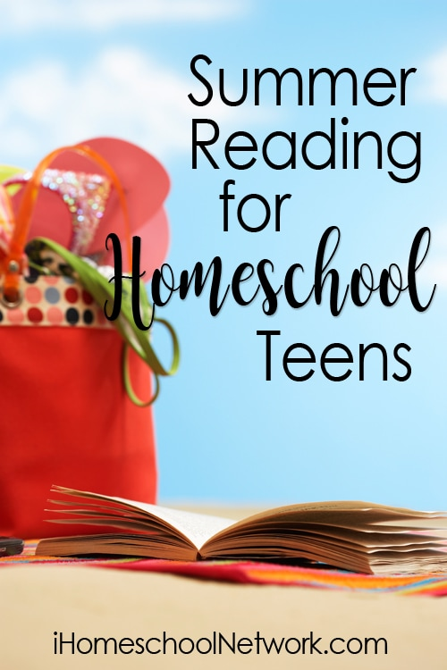 Summer Reading for Homeschool Teens