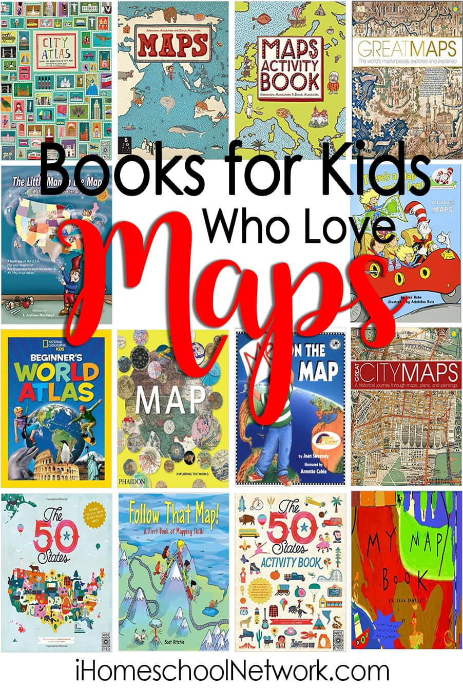 15 Books for Kids Who Love Maps