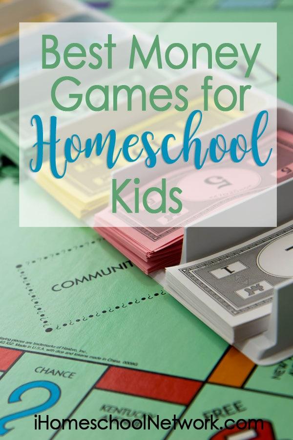 Best Money Games for Homeschool Kids