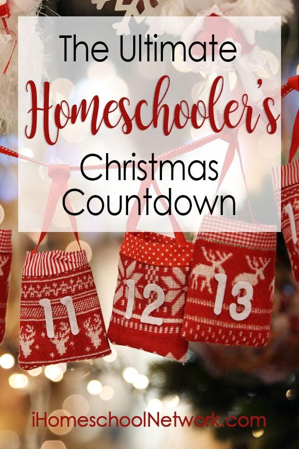 The Ultimate Homeschooler's Christmas Countdown