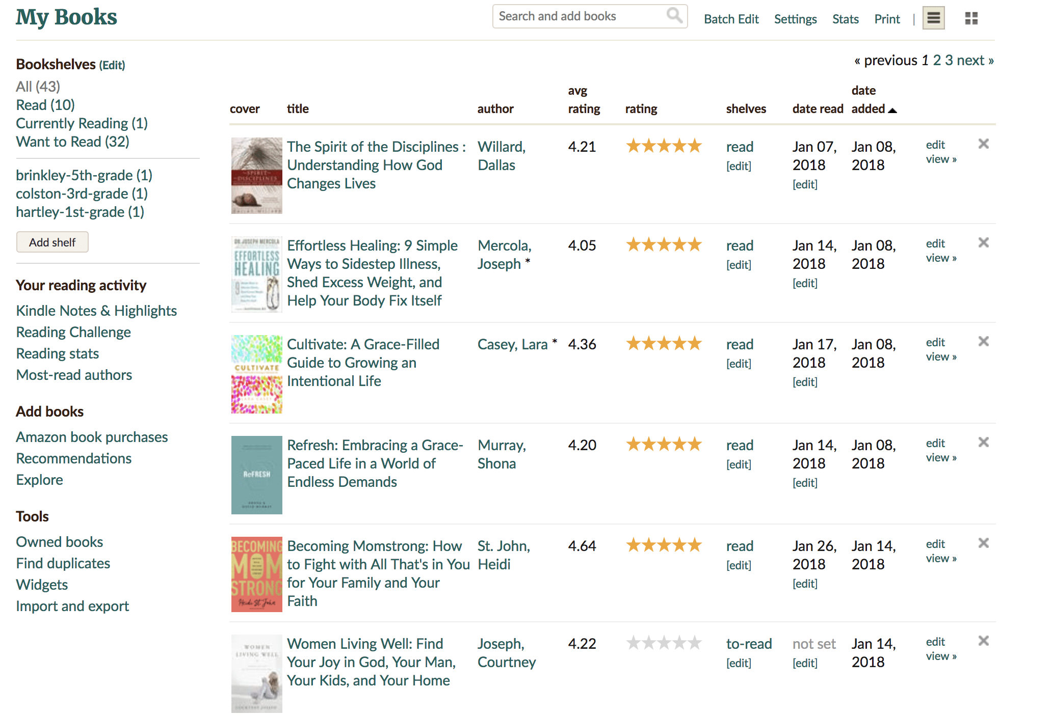 GoodReads is a tool I use as a busy homeschool mom