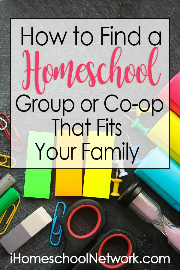 How To Find a Homeschool Group or Co-op That Fits Your Family