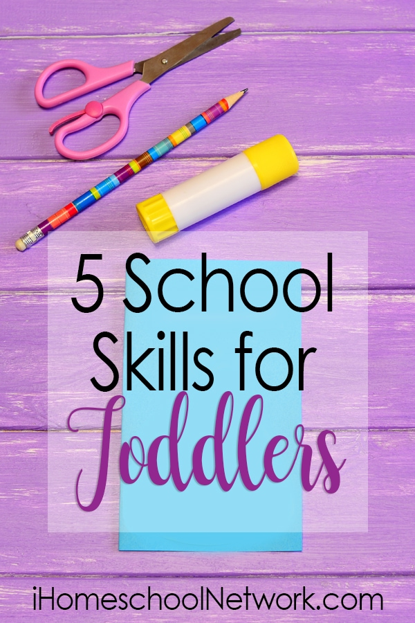 5 School Skills for Toddlers