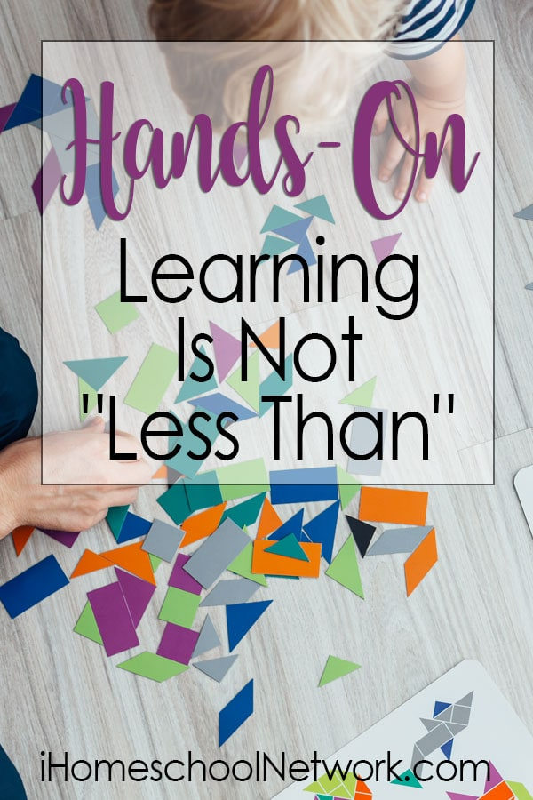 """Hands-On Learning Is Not """"Less Than"""""""