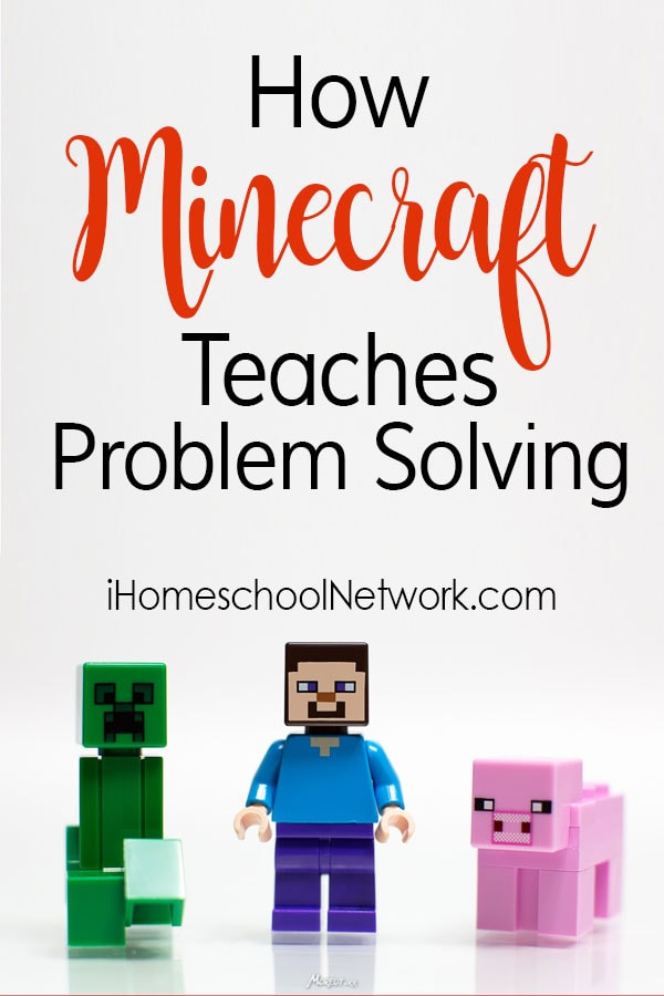 How Minecraft Teaches Problem Solving