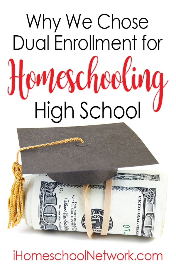 Why We Chose Dual Enrollment for Homeschooling High School