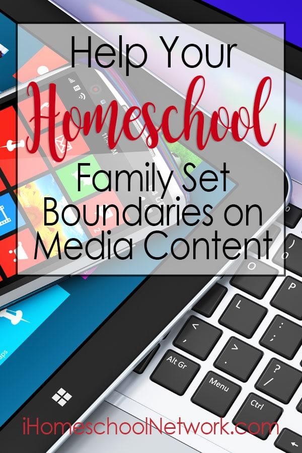 Help Your Homeschool Family Set Boundaries on Media Content