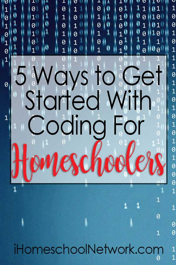 5 Ways to Get Started With Coding For Homeschoolers