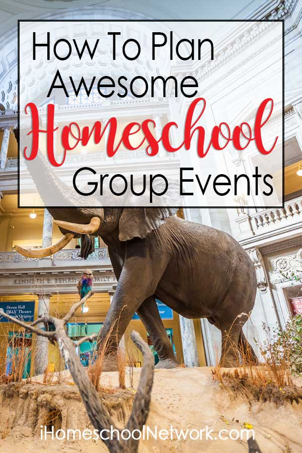 How to Plan Awesome Homeschool Group Events