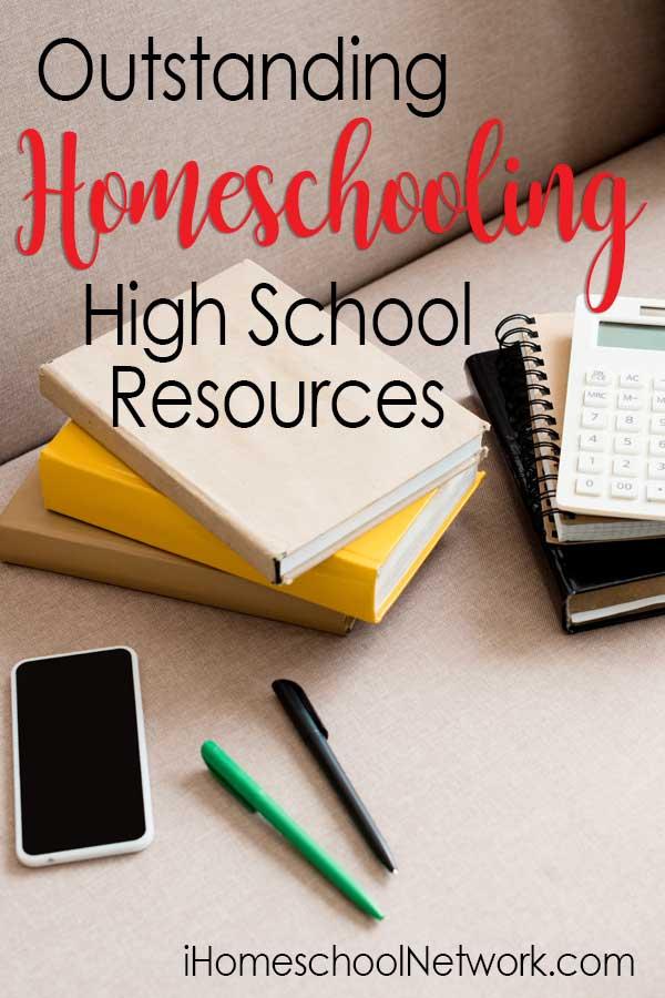 Outstanding Homeschooling High School Resources