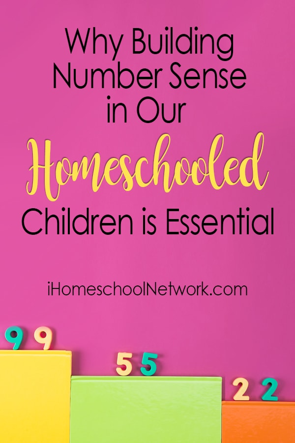 Why Building Number Sense in Our Homeschooled Children is Essential
