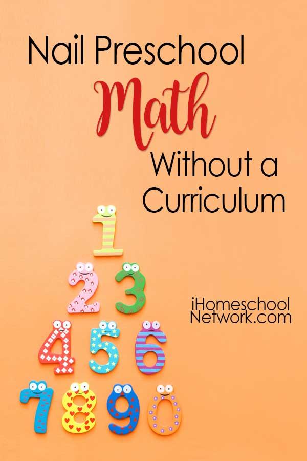Nail Preschool Math Without a Curriculum