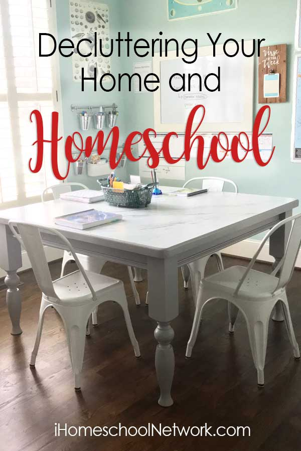 Decluttering Your Home and Homeschool
