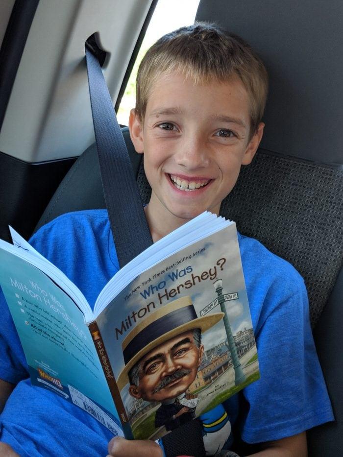 Who Was Milton Hershey Roadschooling Book