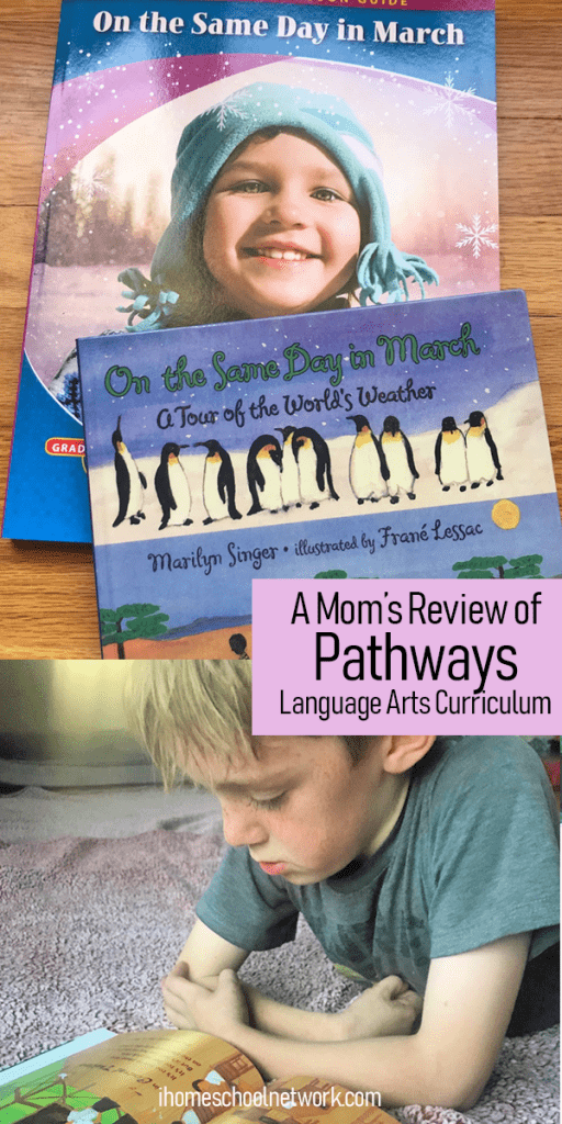 A Mom's Review of Pathways Language Arts Homeschool Curriculum