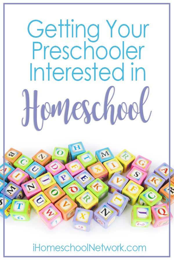 Getting Your Preschooler Interested in Homeschool