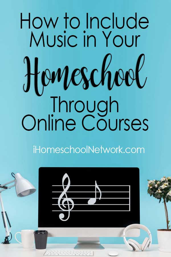 How to Include Music in Your Homeschool Through Online Courses