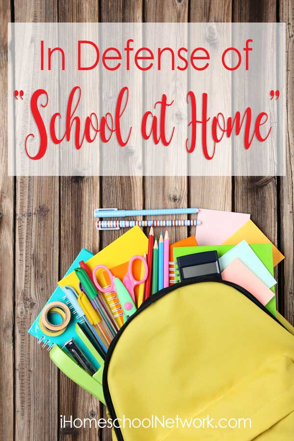"""In Defense of """"School at Home"""""""