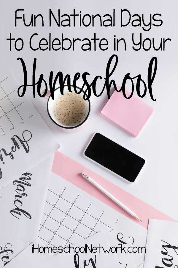 Fun National Days to Celebrate in Your Homeschool