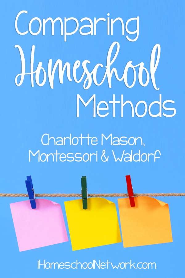Comparing Homeschooling Methods: Charlotte Mason, Montessori, and Waldorf